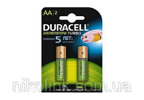 Батарейка-аккумулятор AA Duracell 2500mAh HR6 (2шт.)