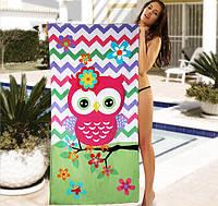 Женское пляжное полотенце - №3974