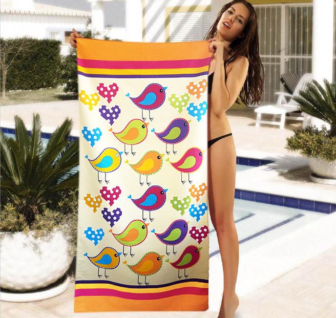 Женское пляжное полотенце - №4025