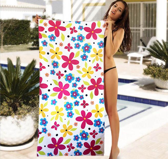 Женское пляжное полотенце - №4032