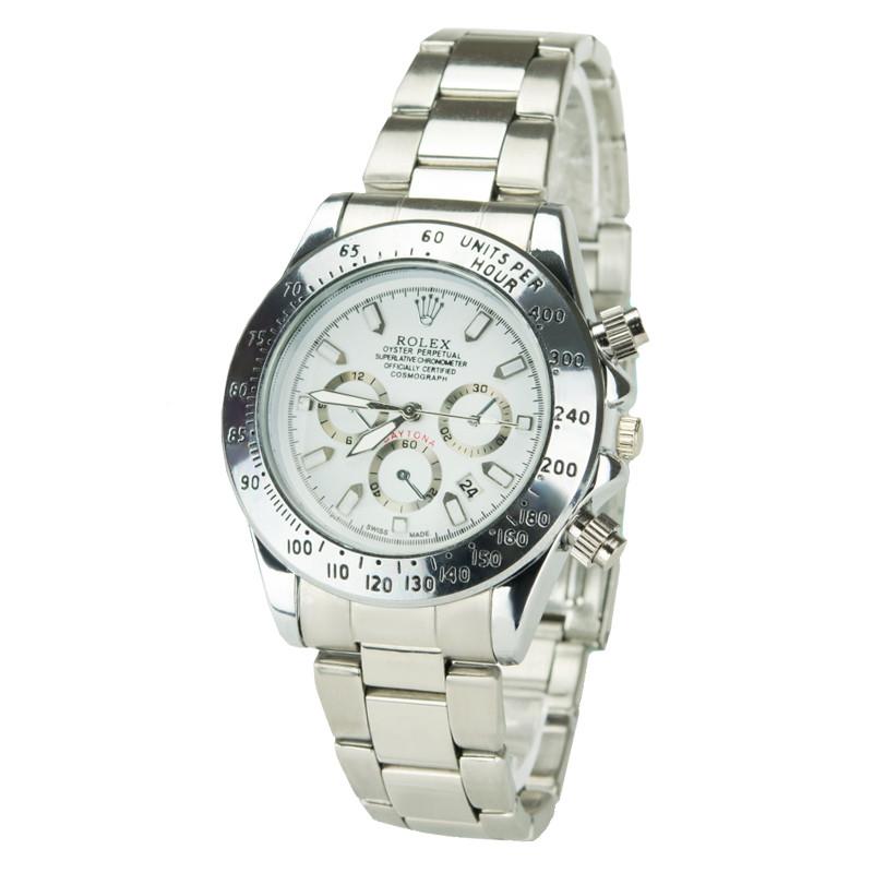 Часы мужские 7661silver-w