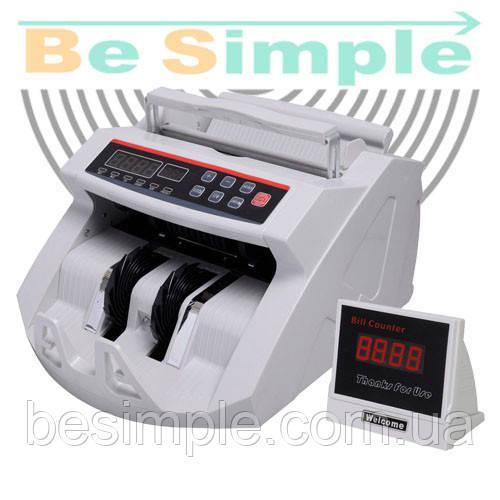 Портативный счетчик банкнот с детектором валют Bill Counter 2089