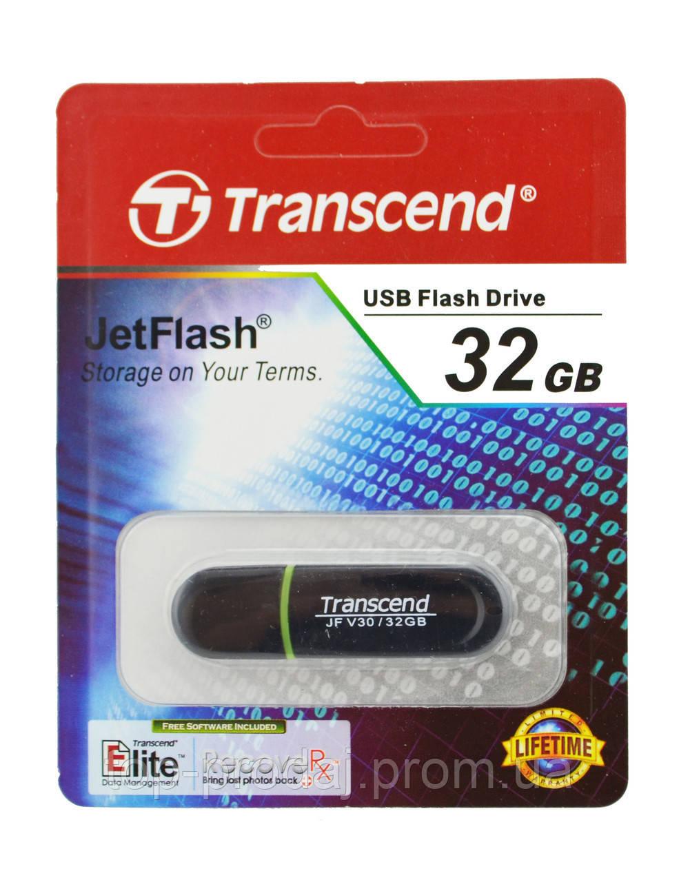 USB Flash Card 32GB флешь накопитель, Юсб флеш накопитель, Transcend флешка, USB-накопитель, Флэшка 32 ГБ