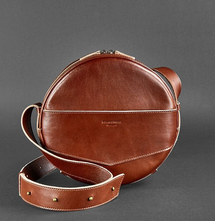 6f66d331fd2c Рюкзак BlankNote BN-BAG-30-k кожаный Коричневый - Интернет-магазин