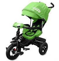 Трехколесный велосипед Tilly Cayman T-381, цвет зеленый