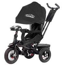 Трехколесный велосипед Tilly Cayman T-381, цвет черный