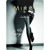 Колготки хорошего качества со швом Mirey Envy 40 den Арт.envy40