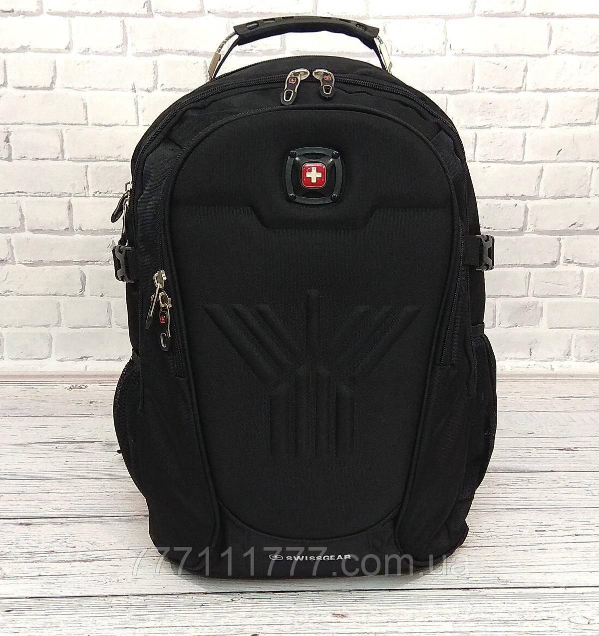 fe6693e13cbe Спортивный рюкзак SwissGear Wenger Черный + Дождевик: продажа, цена ...
