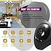 3D панорамная IP камера CAD 3630 видеонаблюдения 360 градусов WI-FI Full HD, фото 6