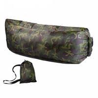 Надувной матрас Ламзак Air Cushion камуфляж
