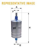 Топливный фильтр на DAEWOO LANOS и SENS (WIX)