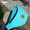 Мятная поясная сумка