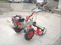 Роторная косилка с редуктором для мотоблока с воздушным охлаждением