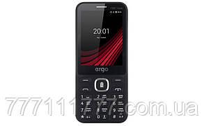 """Мобильный телефон ERGO F282 Travel DS Black черный (2SIM) 2.8"""" 32/32МБ 0.3МП оригинал Гарантия!"""