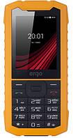 """Защищенный мобильный телефон ERGO F245 Strength DS Yellow/Black IP68 (2SIM) 2.4"""" 32/32МБ+SD 1,3Мп Гарантия!"""