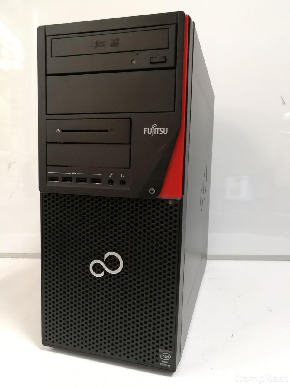 Fujitsu Esprimo P720 Tower / Intel® Pentium® G3220 (2 ядра по 3.0 GHz) / 4GB DDR3 / 120GB SSD НОВЫЙ / VGA, DVI, DP, USB 3.0