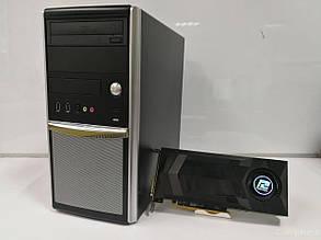 EuroCom Tower / Intel® Core™ i5-2400 (4 ядра по 3.10 - 3.40 GHz) / 12GB DDR3 / 500GB SSHD / Radeon RX470 4GB DDR5 256bit / HDMI,DVI,DP / БП-600W, фото 2