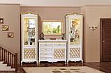 Зеркало 1,1 Ливорно  (Світ мебелів) 1090х55х720мм, фото 3