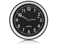 Автомобільний годинник Elite кварцові  Чорний