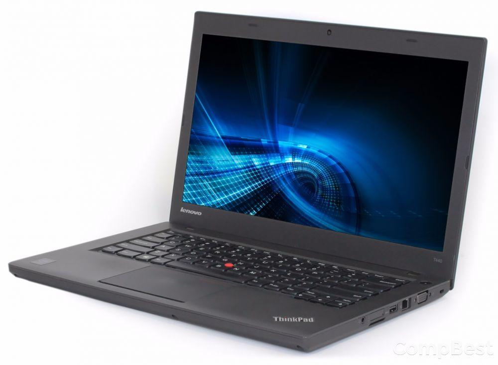 "Lenovo ThinkPad T440 / 14"" (1600x900) / Intel® Core™ i5-4200U (2 (4) ядра по 1.6 - 2.6 GHz) / 8GB DDR3 / 240GB SSD / Wi-Fi, Bluetooth, USB 3.0"