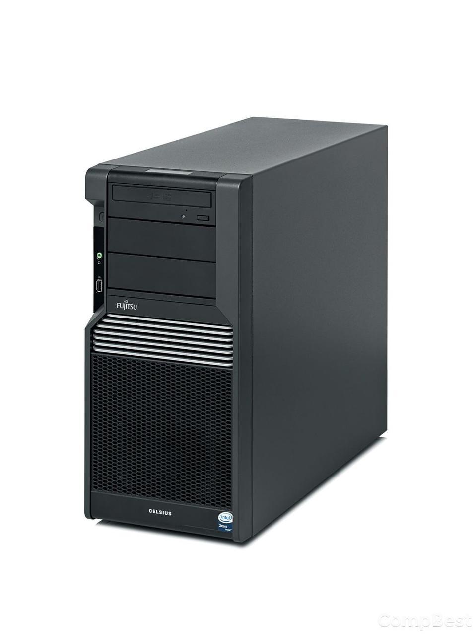 Fujitsu Celsius M470-2 Tower / Intel Xeon W3530 (4(8) ядра по 2.8-3.06GHz) / 12GB DDR3 / 500GB HDD / NVIDIA Quadro FX 1800 768MB 192-bit , DVI