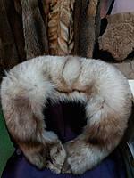 Воротник из меха песца, песцовый воротник, опушка, фото 1