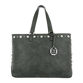 Женская сумка шоппер-зеленый - ТА-4835-1-green