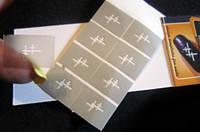Трафареты для ногтевого дизайна маникюра полоски, фото 1