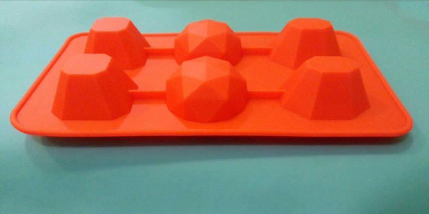 Форма силиконовая для конфет Драгоценные камни 2, фото 2