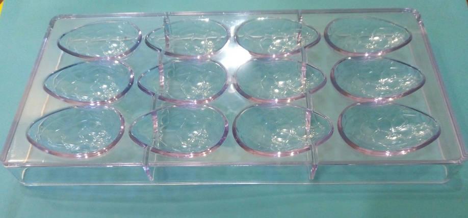 Форма для конфет поликарбонатная Драконьи яйца, фото 2