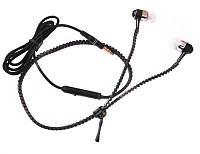 Наушники MDR Zipper, Вакуумные наушники с микрофоном, Гарнитура, Проводные наушники, Наушники затычки