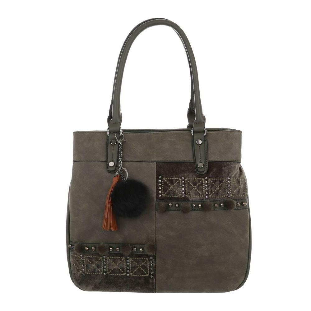 Женская сумка-зеленый - ТА-8035-111-green