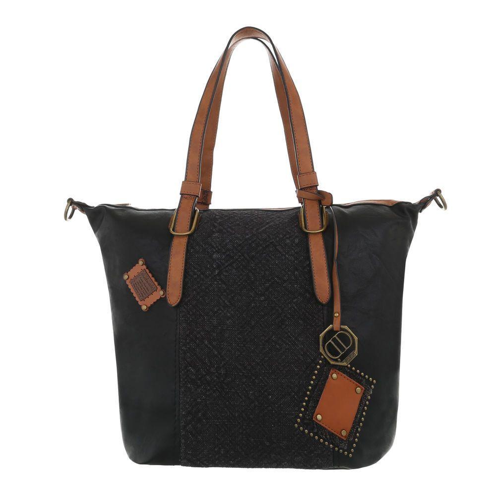 Женская наплечная сумка-черный - ТА-8035-84-черный