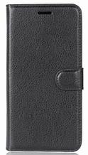 Кожаный чехол-книжка для Asus Zenfone 4 Max ZC520KL черный