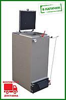 Твердотопливный ШАХТНЫЙ котел Холмова Bizon FS Eco 10 кВт длительного горения