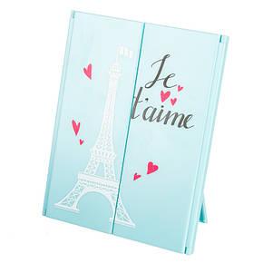 Зеркало косметическое на подставке Je  t'aime (314JH), фото 2