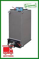 Твердотопливный ШАХТНЫЙ котел Холмова Bizon FS Eco 12 кВт длительного горения