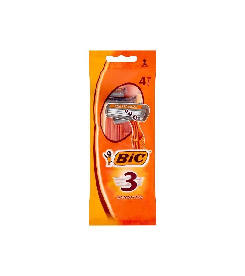 Бритвенные Станки BIC Sensitive 3 4 шт