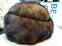 Меховая шапка норковая из натуральной норки, фото 1