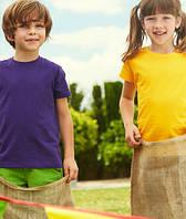 Детские футболки 1-15 лет Fruit of the Loom Valueweight T 61-033-0