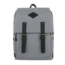 Женский рюкзак-серый - ТА-5040-6-grey