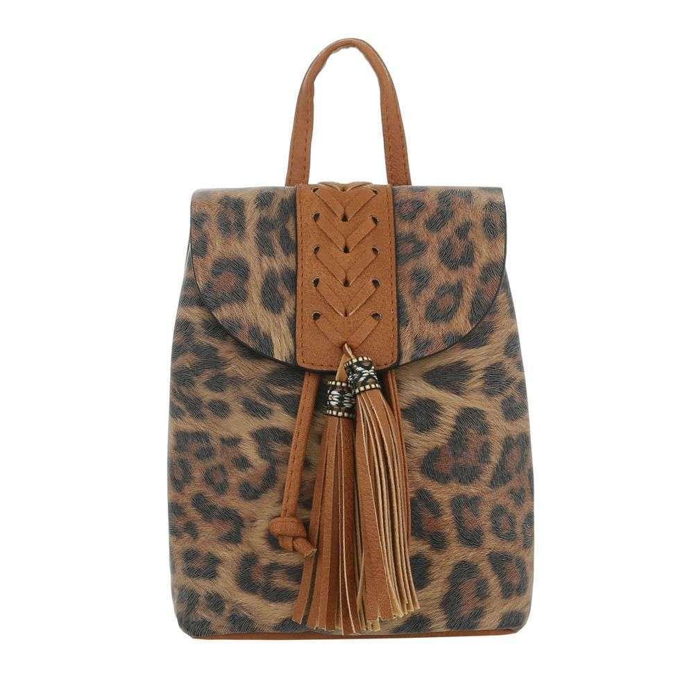 Женский рюкзак-коричневый - ТА-5160-48-Браун