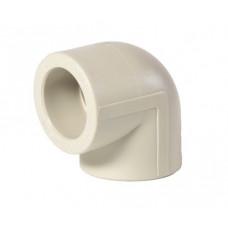 Кут поліпропіленовий ппр діаметр 20х90 градусів