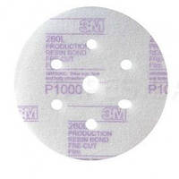 3M™50241 Супертонкие абразивные диски Hookit 260L, диам. 150 мм, P800, конфиг. LD601A