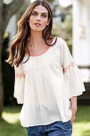 Блуза белая ELLOS, размер L