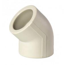 Угол полипропиленовый ппр диаметр 20х45 градусов