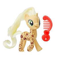 Фигурка My Little Pony Applejack Fashion Friendship is MagicЭппл Джек блестящая с аксессуаром