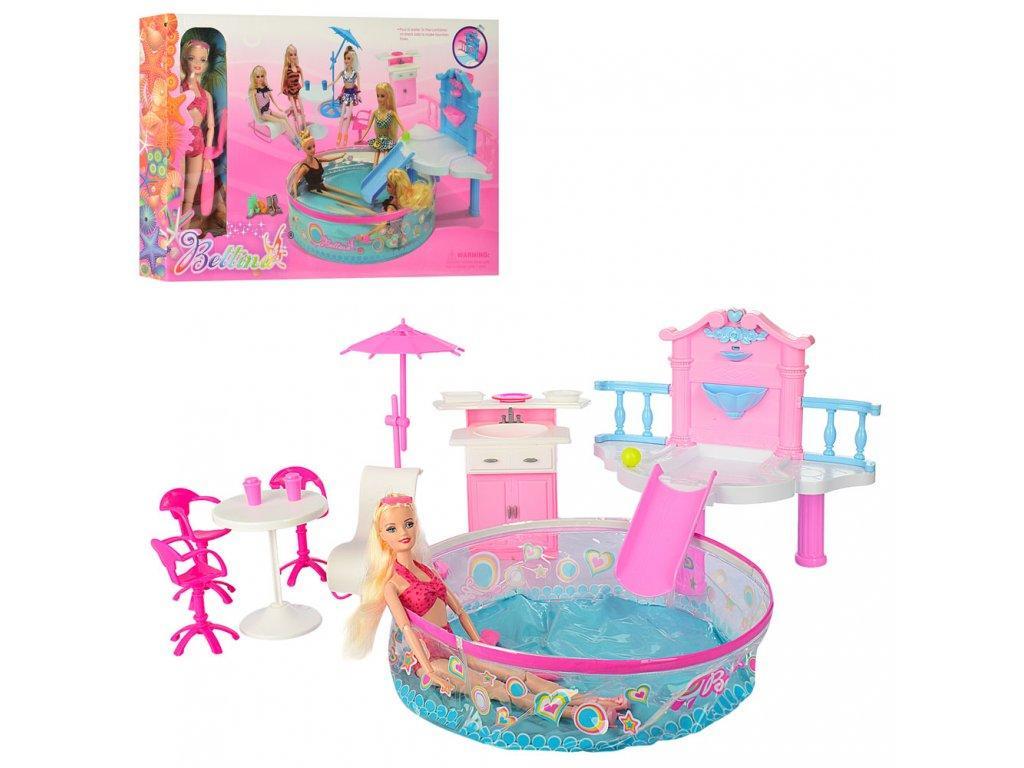 1fb6f98487ff Игровой набор мебель. Bettina 66868. Надувной бассейн в комплекте ...
