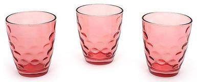 Набор стаканов 350мл (3шт) красный