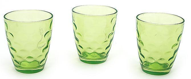 Набор стаканов 350мл (3шт) зеленый